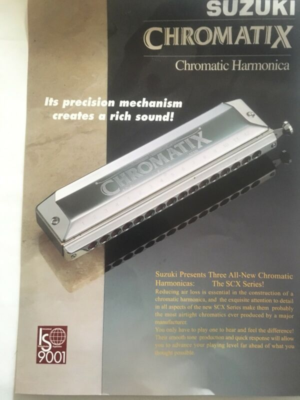 Suzuki SCX-48 Deluxe Chromatix Key C. Brand New.