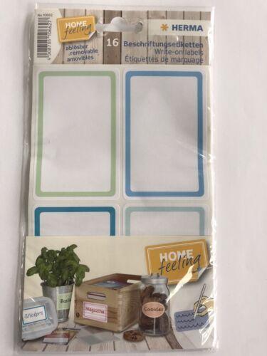 HERMA  Beschriftungsetiketten 52x82 mm  ablösbar Papier matt Handb Farbwahl