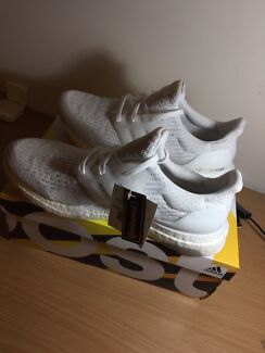 Adidas ultraboost 3.0 triple white size 10.5US