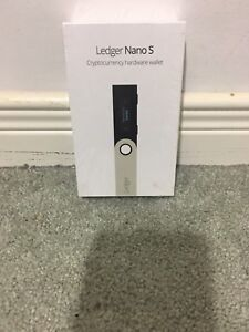 Ledger Nano S Cryptocurrency hardware wallet