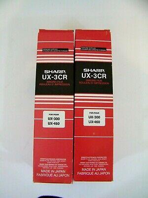 Sharp Ux-3cr Fax Machine Imaging Film 3 Rolls For Ux 300 305 460