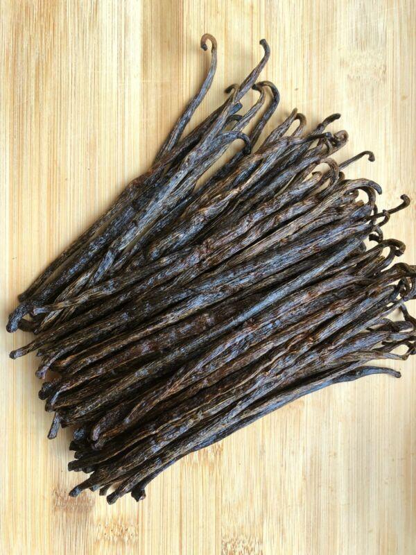 10 Madagascar Organic Vanilla Beans Grade A/B - Great for Extraction & Baking!