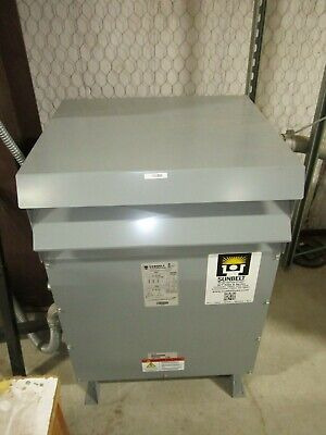 Sunbelt 75 Kva Transformer High Voltage 480 Low Voltage 240