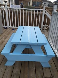 Kids/adult  size picnic table