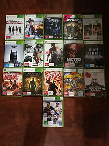 XBOX 360 GAMES FOR SALE!!! Ashford West Torrens Area Preview