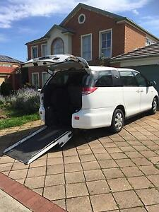 2007 Toyota Tarago Wagon with access wheelchair Flushcab Oakden Port Adelaide Area Preview