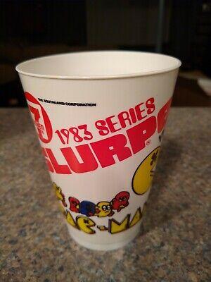 Vintage PAC Man 1983 7-11 Atari Slurpee Cup New Unused Free Shipping