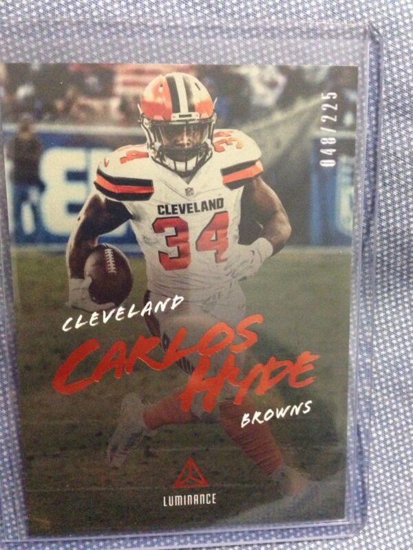 6076c782924 2018 Panini Rookies and Stars Football Checklist | Cleveland Browns ...