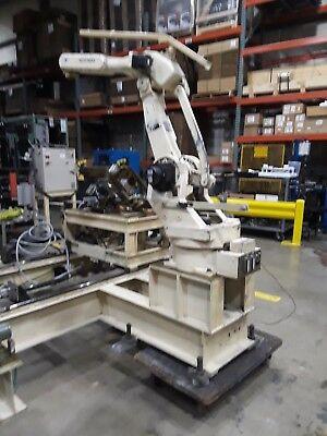 Motoman Model Yr-sk16-j00 Robotic Arm With Yasnac Xrc Controller Pendant