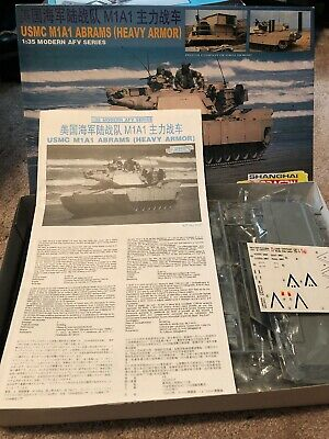 1/35 Dragon USMC M1A1 ABRAMS (HEAVY ARMOR) Kit # 3531, used for sale  Monroe