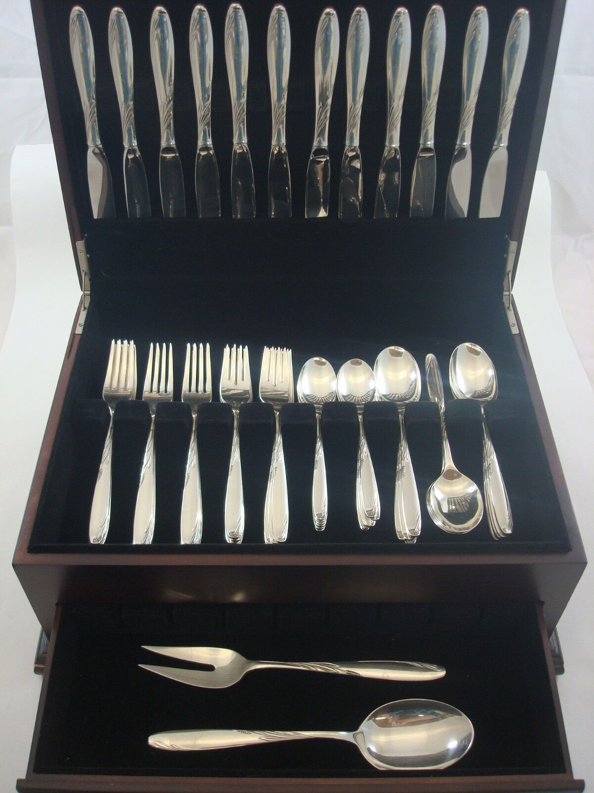 Gorham Willow Regular Fork Sterling Silver Flatware