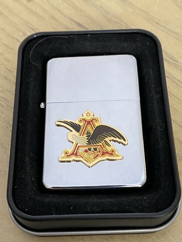 Star Lighter A Anheuser Busch Eagle Enamel Emblem