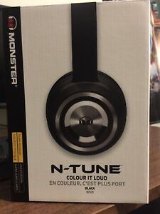 Monster N-tune 9.5/10 condition Worn Once CHEAP!! $50