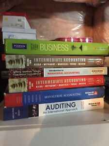 Accounting and Management Textbooks