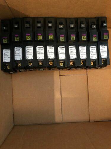 Square D Dual Function Circuit Breaker HOM115PDF  Dual Function Afci/gfci ——UESD