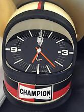 Helmet, Champion Spark Plug Clock Booker Bay Gosford Area Preview