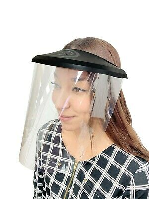 Pep Face Shield - W 3 Pack Of Reusable Shields. Uv Coated-anti Fog Adjustable