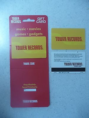 Original Tower Records Gift Card