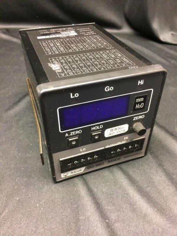 FUKUDA DG-960 Digital Manometer