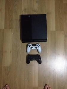 PS4 + 10 Games + 2 CONTROLLERS Burra Queanbeyan Area Preview
