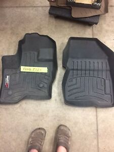 Ford Flex weather tech front mats