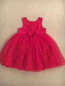 Baby Girl Red Party Dress