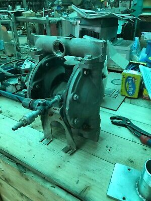 Aro Stainless Steel Diaphragm Pump 1 Inch  Used