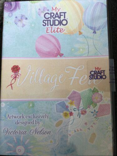 New sealed My Craft Studio Elite VILLAGE FETE CD-ROM