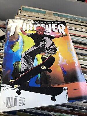 THRASHER magazine February 1996 SKATEBOARDING/SKATEBOARD Pushead
