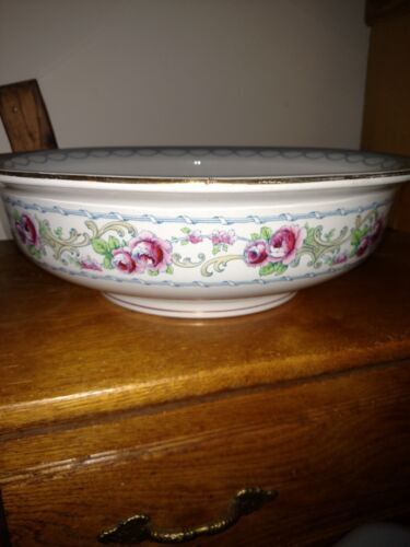 BEAUTIFUL VICTORIAN LOSOL KEELING & CO LTD, ENGLAND (BEAUFORT) BASIN BOWL