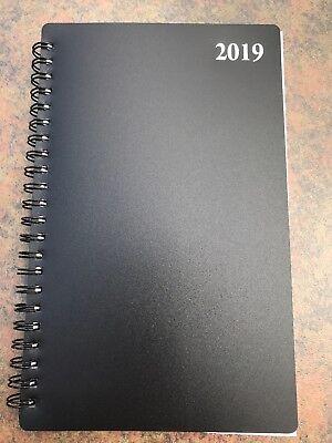 Signature 2019 Spiral Planner Weeklymonthly Calendar Student Agenda 5x8 Black