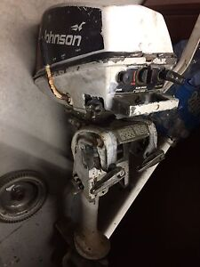 1976 Johnson 4hp for parts.