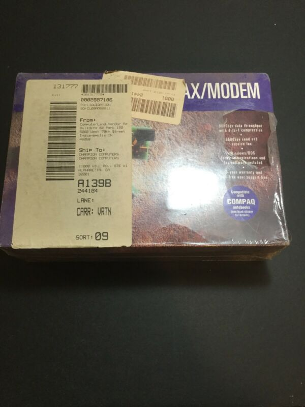 Brand New In The Box Inernal Laptop Fax/modem 2400 Bps.
