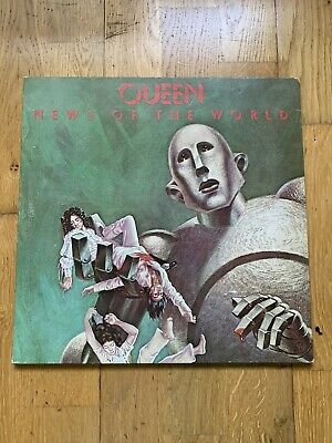 Queen - News Of The World 1977 UK LP Vinyl Record For Turntable