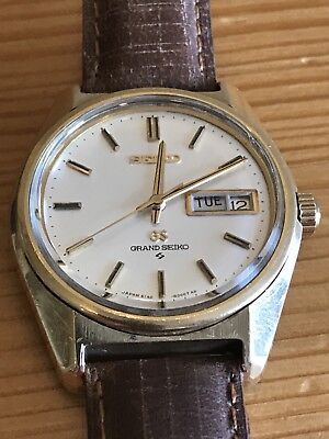 Vintage GRAND SEIKO  Gold Plated Automatic Mens Watch 6146-8000