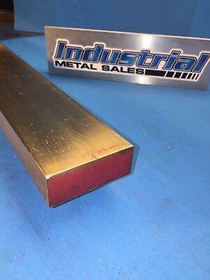 1 X 2 X 12-long 360 Brass Flat Bar --1 X 2 360 Brass Mill Stock