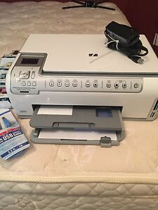 HP C6280 Photosmart Printer and ink, fully working