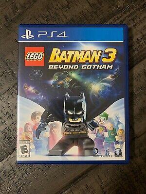 LEGO Batman 3 Beyond Gotham PS4 Sony PlayStation 4 GREAT SHAPE!