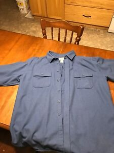 L.L. Bean men's chamois shirt
