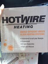 Brand new Hotwire heating undertile heating kit Judbury Huon Valley Preview