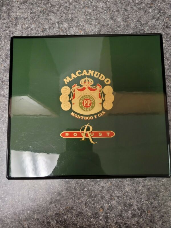 Daniel Marshall Slim Desk Travel Humidor for 20 Cigars - Macanudo!!!
