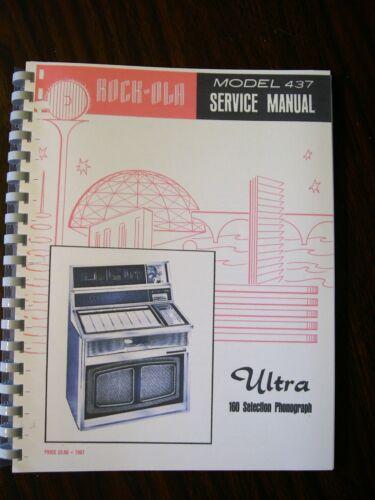 Rock-ola 437 Jukebox manual Ultra 160