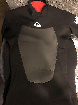 QUIKSILVER Men's 4/3 SYNCRO Back-Zip GBS - XKKW - MT- NWT