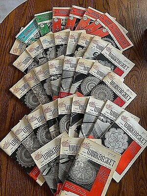 Vintage The Work Basket Home Needlecraft Magazine 1960-1964 Lot Of 36 Issues