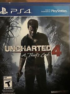 SELLING UNCHARTED 4, WATCH DOGs 2 and DESTINY