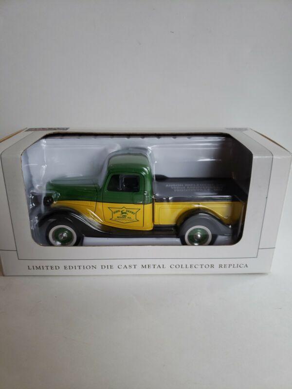 John Deere Dealer SpecCast Anson implement inc 1937 Ford Pickup Truck 16091 New
