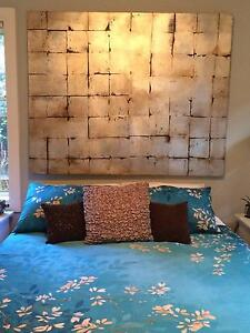 Large Wall Candy Painted Canvas 1520 x 1220 x 40 Metallic overlay Waverton North Sydney Area Preview