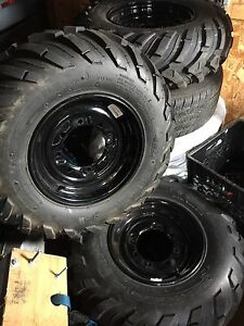 Quad or Atv tires and rims/ New takeoffs,$550