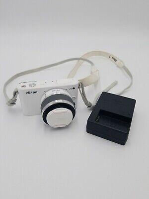 Nikon 1 J1 10.1MP Camera - White w/ Nikkor Lens (VR 10-30m)
