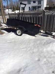 4x8 steel trailer